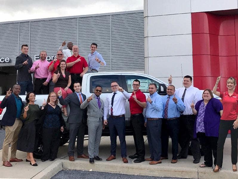 Faulker Nissan Harrisburg team