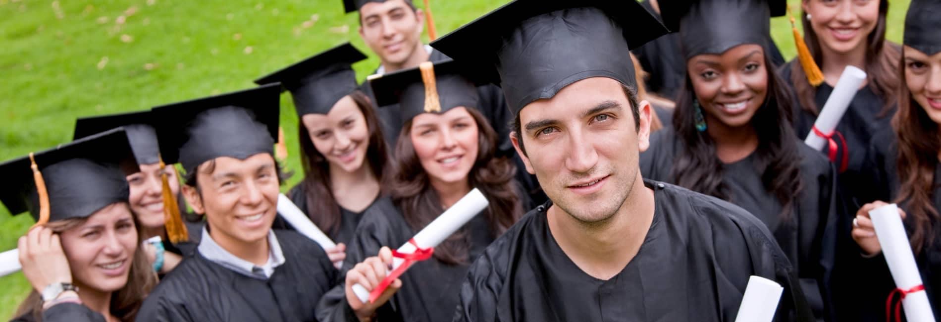 College Graduates Banner