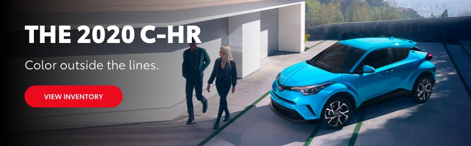 2020 C-HR Color Outside the lines