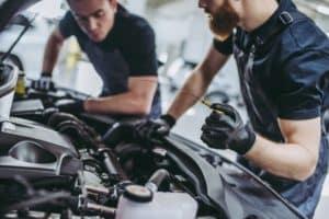 Oil Change at Faulkner Volkswagen
