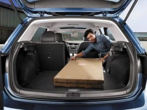 VW Golf Cargo Space