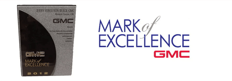 Mark of Excellence GMC 2012