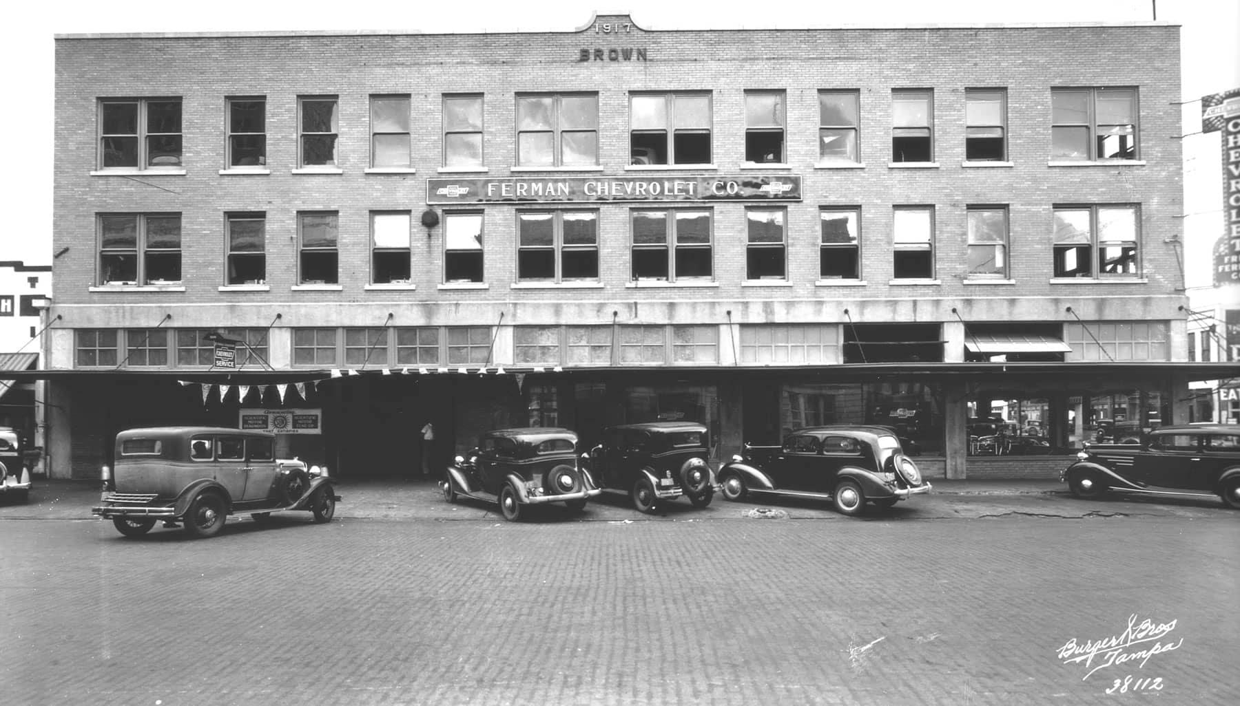Exterior of Ferman Chevrolet of Tampa