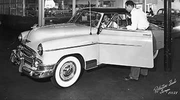 The Chevy Deluxe was a volume sales leader during the 1940s.