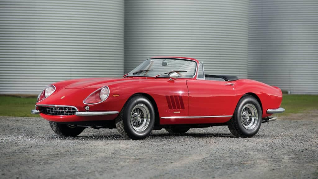 1967 Ferrari 275 GTB/4 N.A.R.T. Spider | The most expensive Ferrari models ever sold