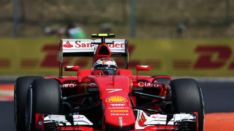 Raikkonen Hungary GP