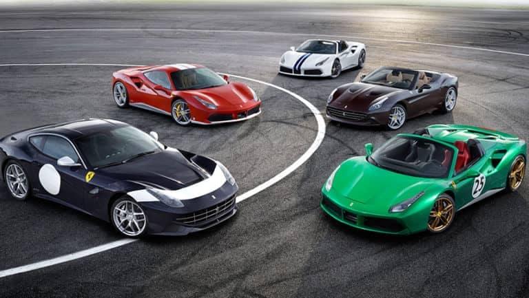 Ferrari schieramento