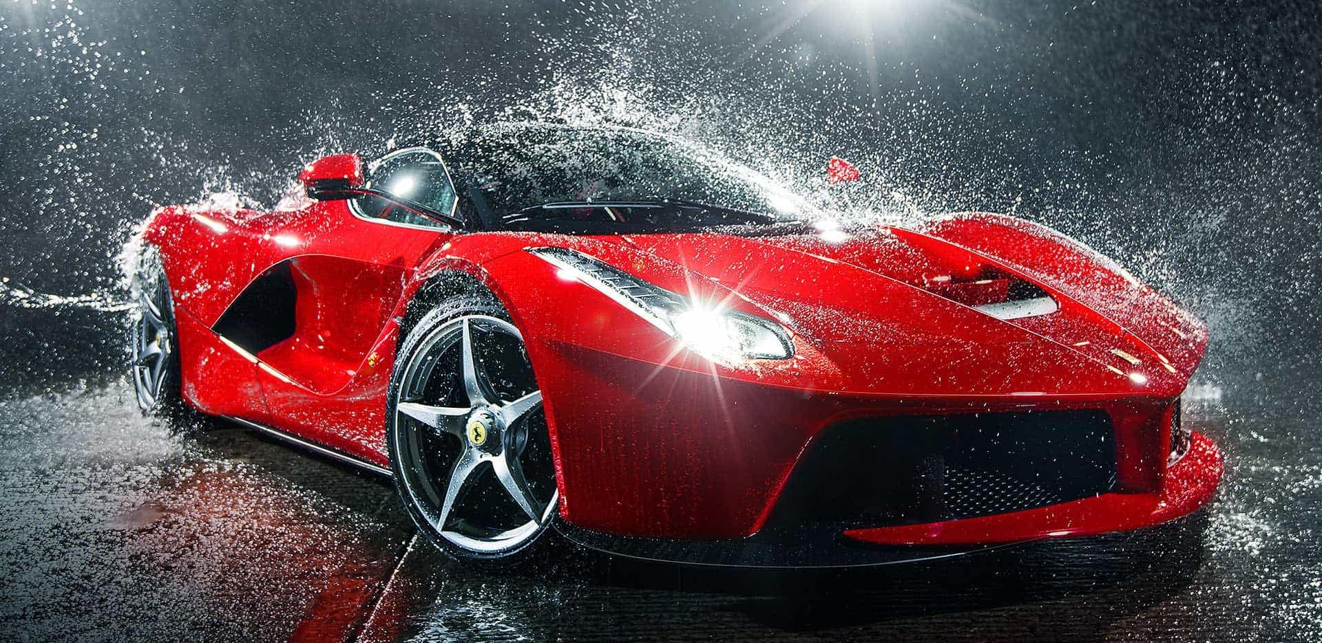 Car Cleaning Guide: Keep dirt, dust, and germs away from your Ferrari