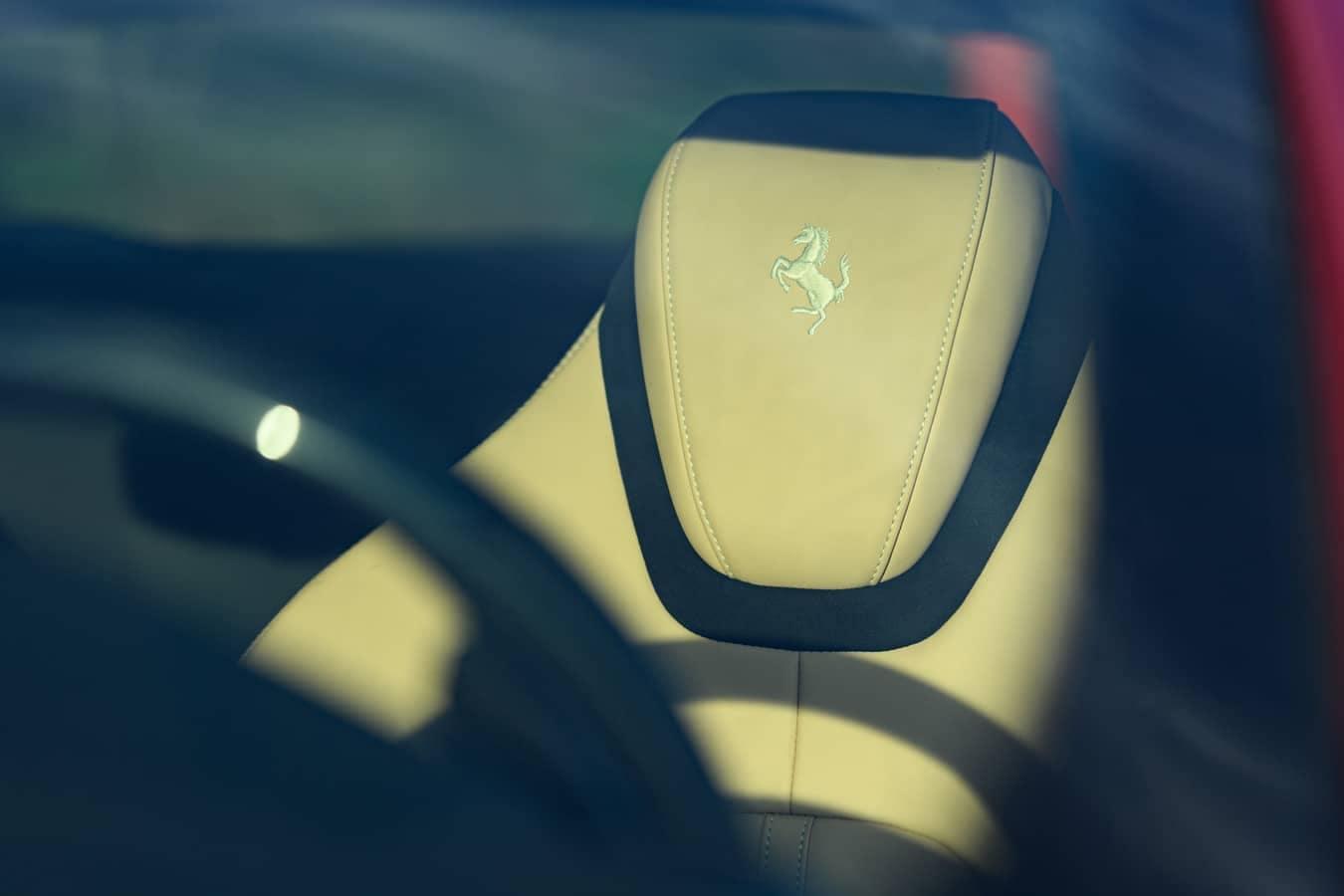Ferrari Roma front seat