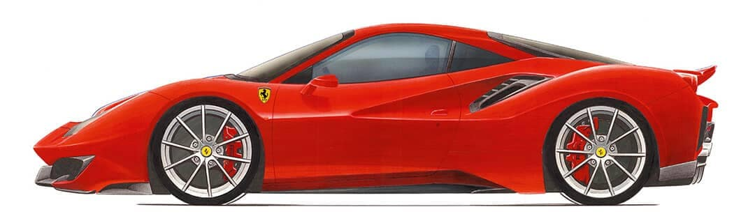 488 Pista Drawing