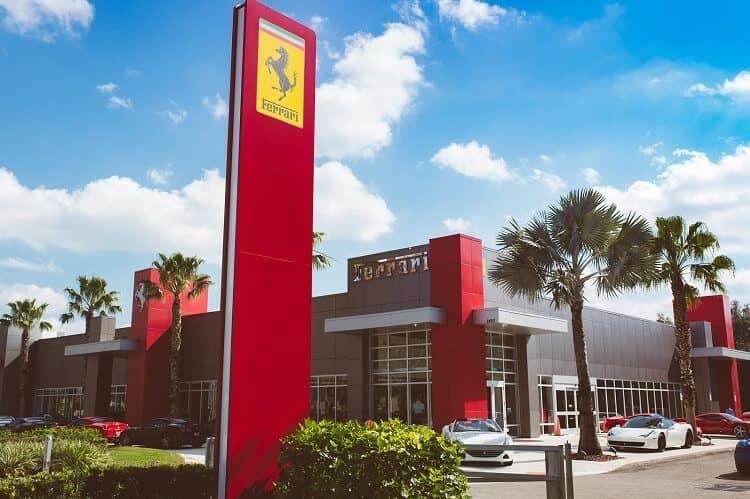Ferrari of Tampa Bay dealership