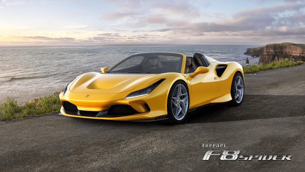 Ferrari F8 Tributo Spider overview