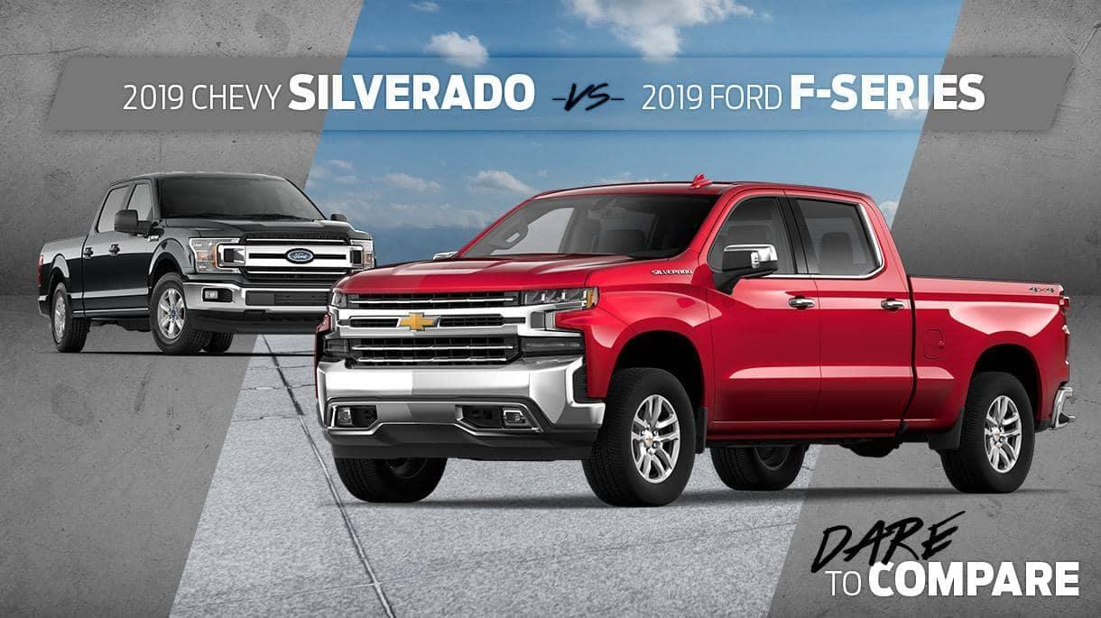 silverado versus ford