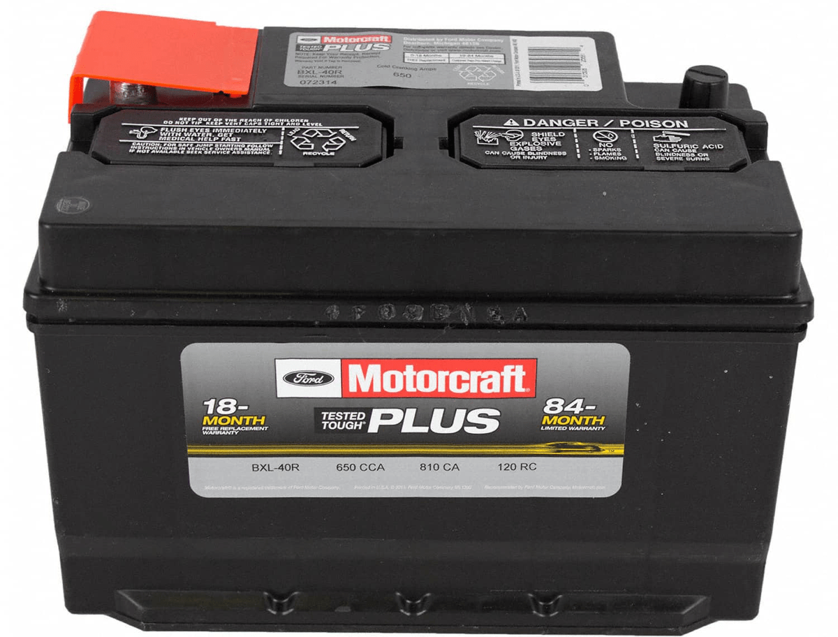 Motocraft-battery