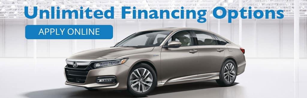 Unlimited Honda Financing Options