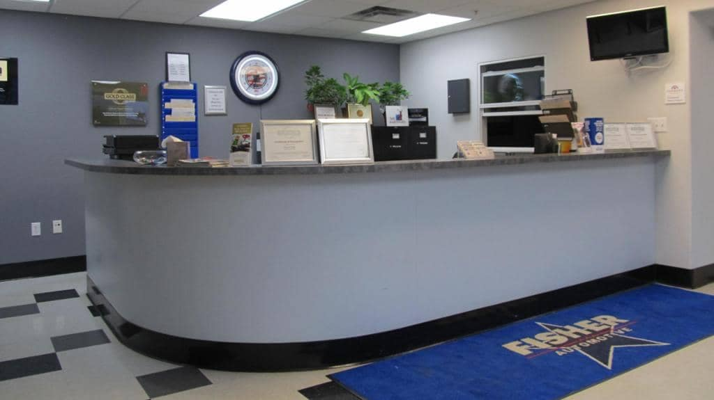 Fisher Front Desk