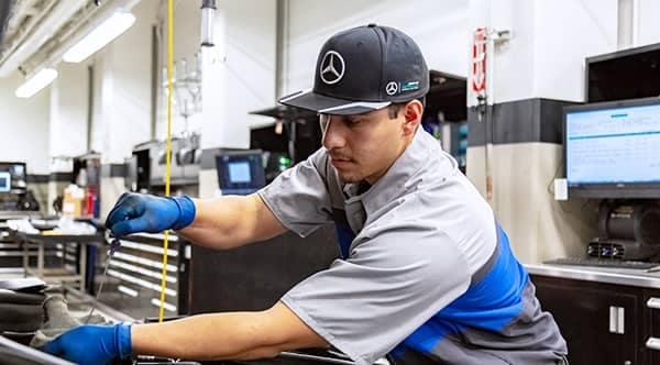 MB service technician