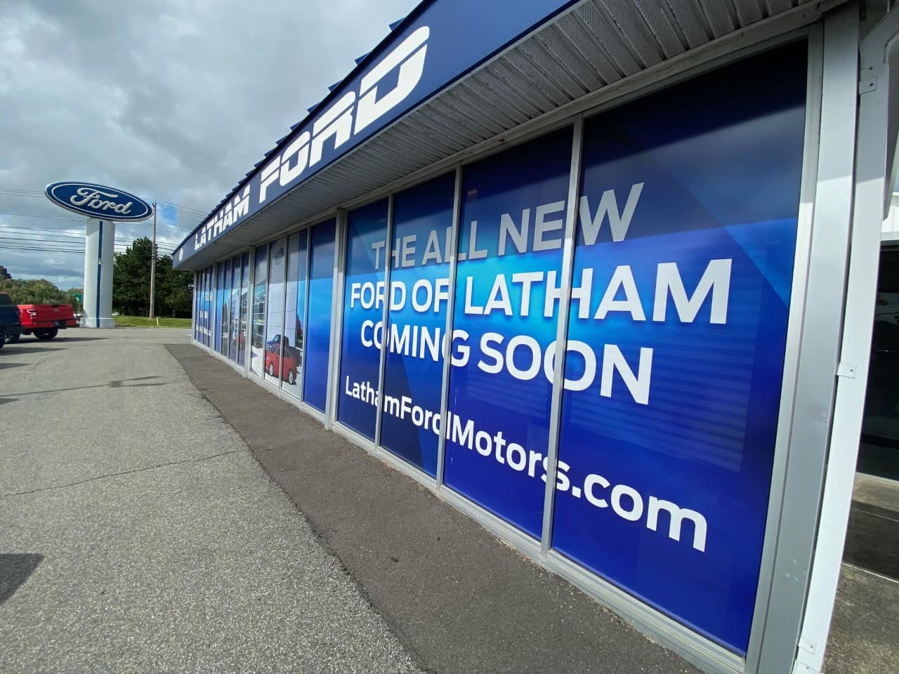 Ford of Latham dealership exterior