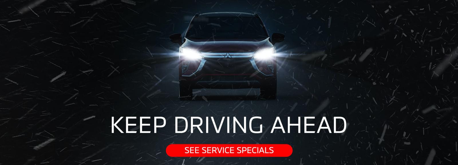 Keep Driving banner - desktop