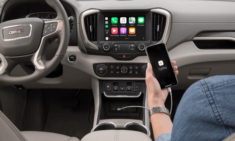 2021 GMC Terrain touchscreen