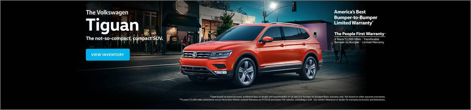 VW Tiguan promotion