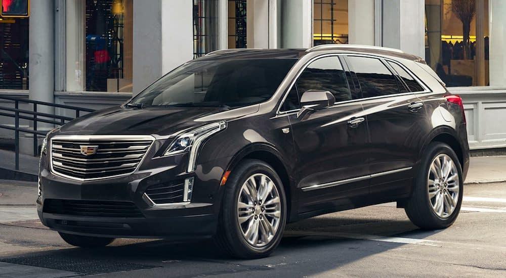 Black 2019 Cadillac XT5 from a Dealership near Fort Worth