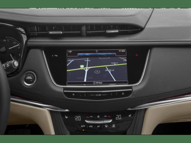 2019 Cadillac XT5 map