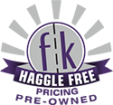 Haggle Free Pre-Owned Pricing