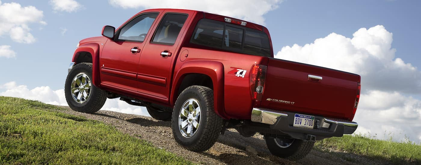 Chevy Colorado Off Road on a Hill