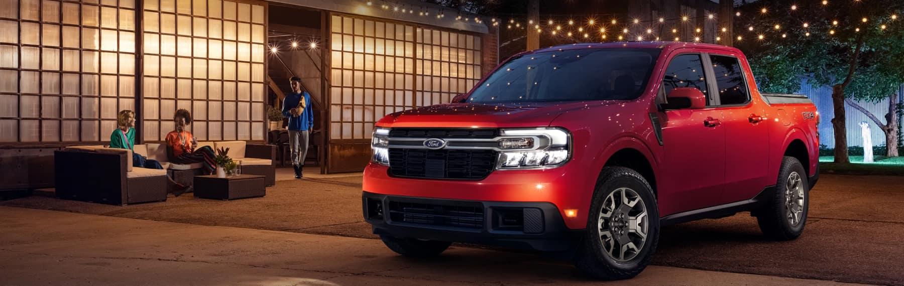 Red Ford Explorer