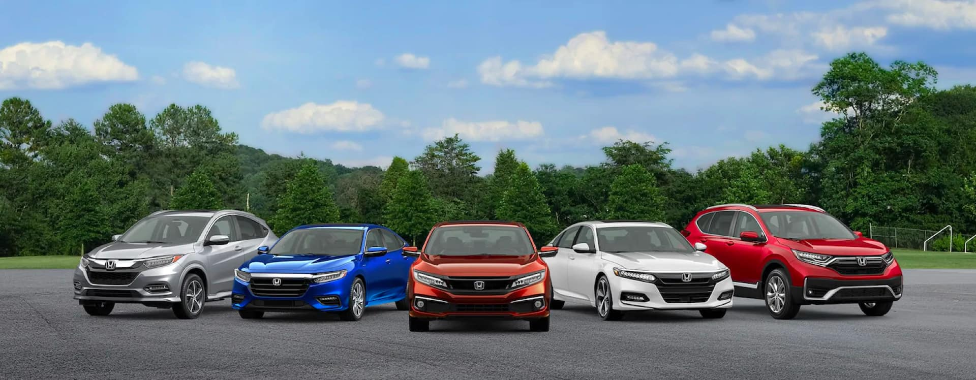 selection of honda vehicles
