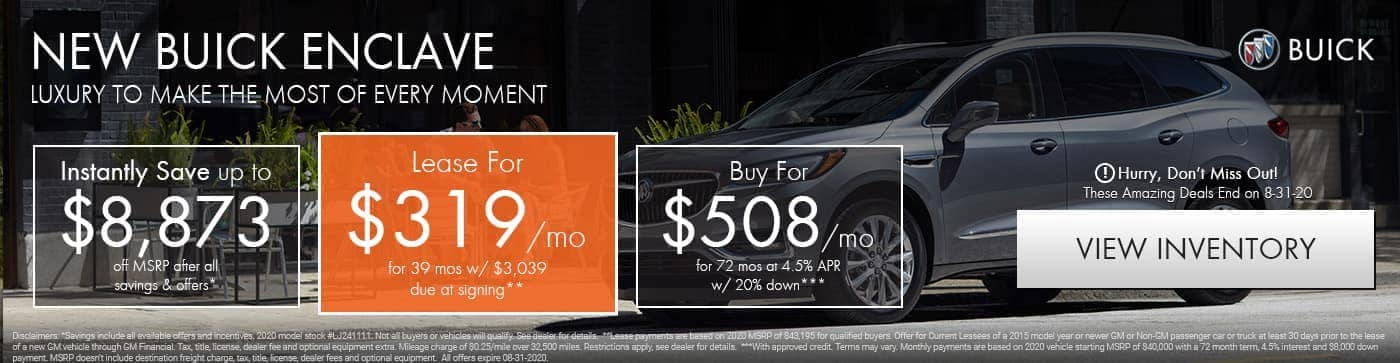 new-buick-enclave-offers-port-st-lucie-vero-beach-fl-8-2020-specials
