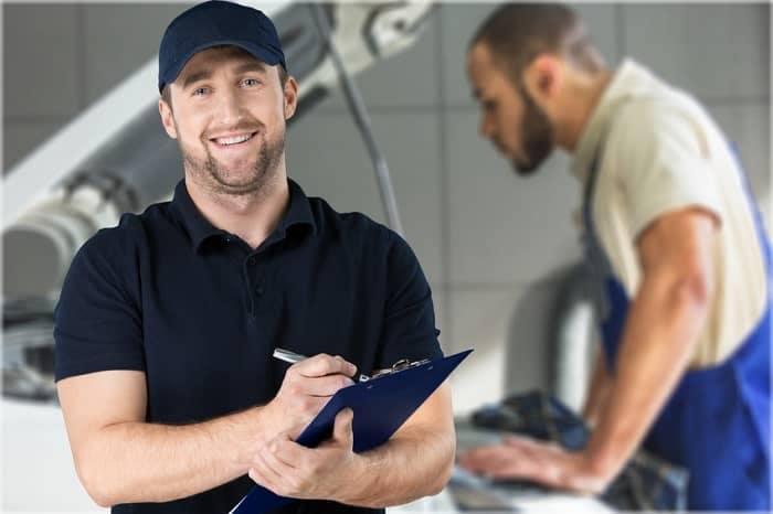 Mechanic in Shop