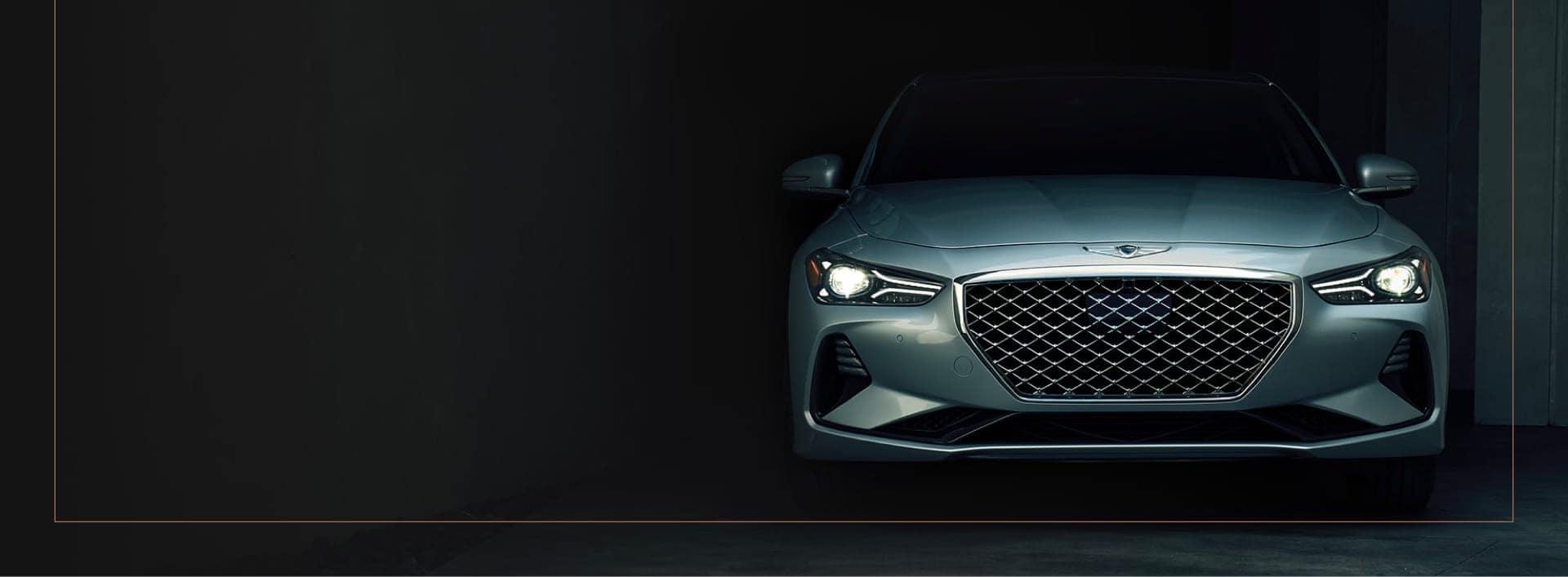 Gray Genesis Car