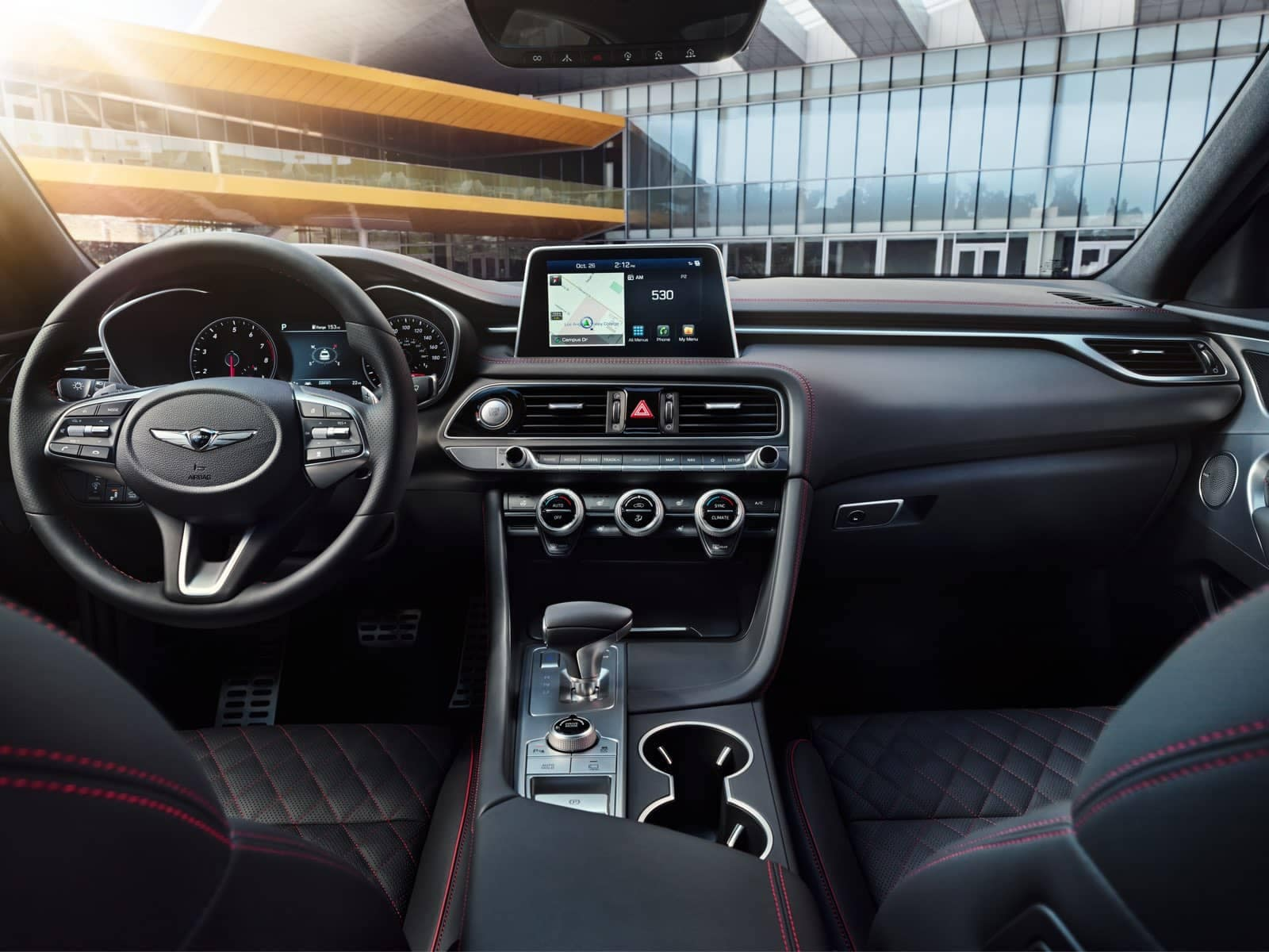 G70 Sport interior