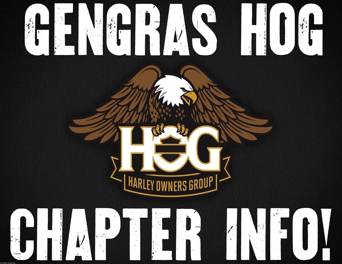 Gengras HOG Chapter Info