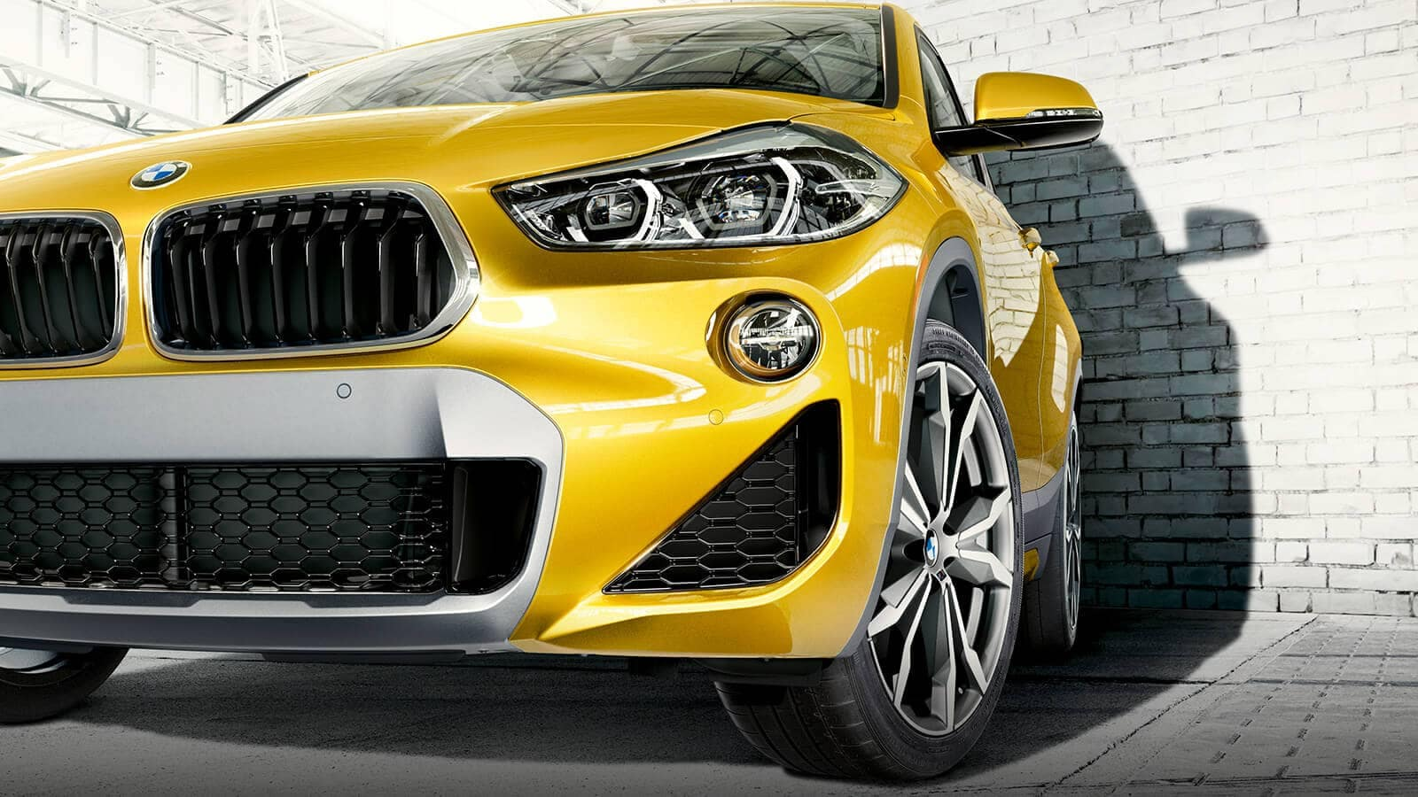 BMW X2 2018 headlight