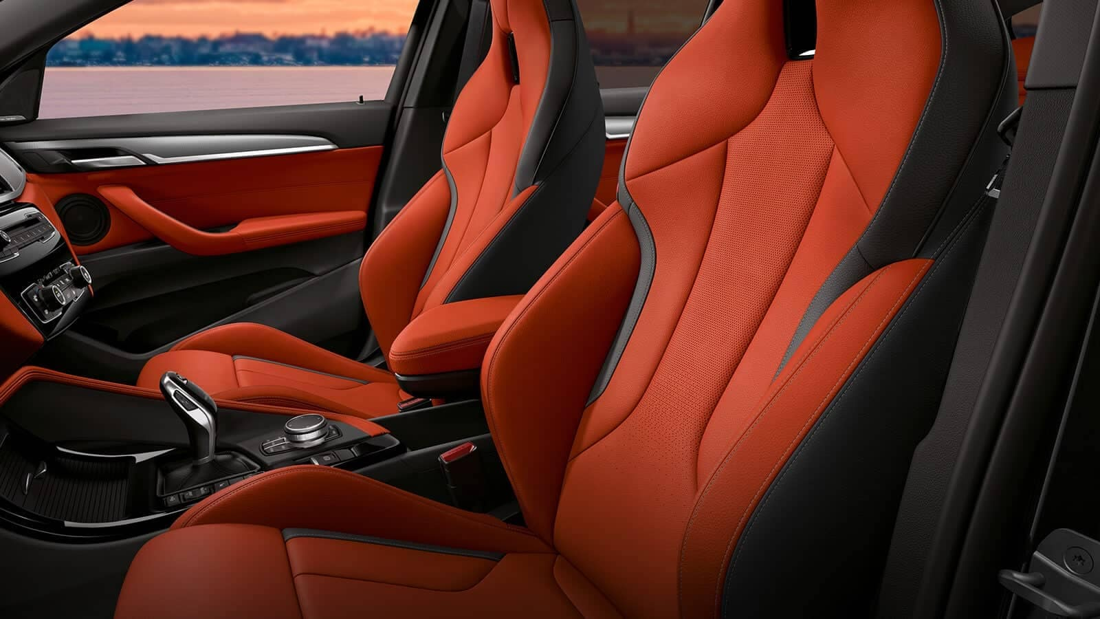 BMW x2 interior seats
