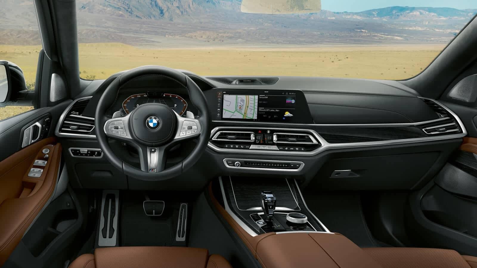 BMW X7 interior dashboard
