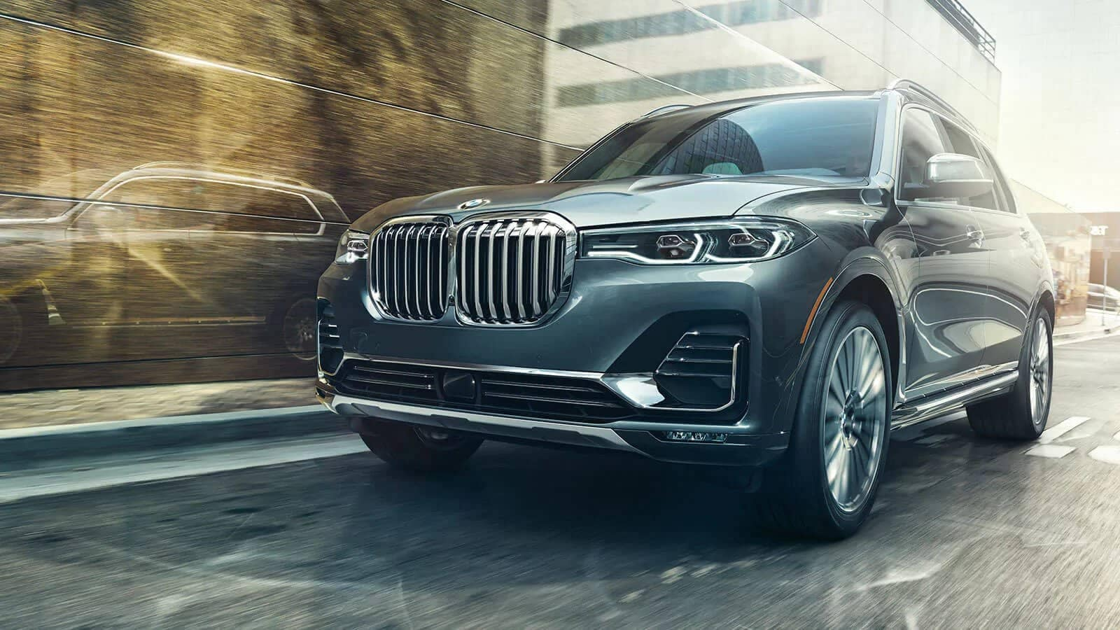 grill of BMW X7