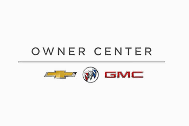 Owner Center - chevy, buick, GMC logo