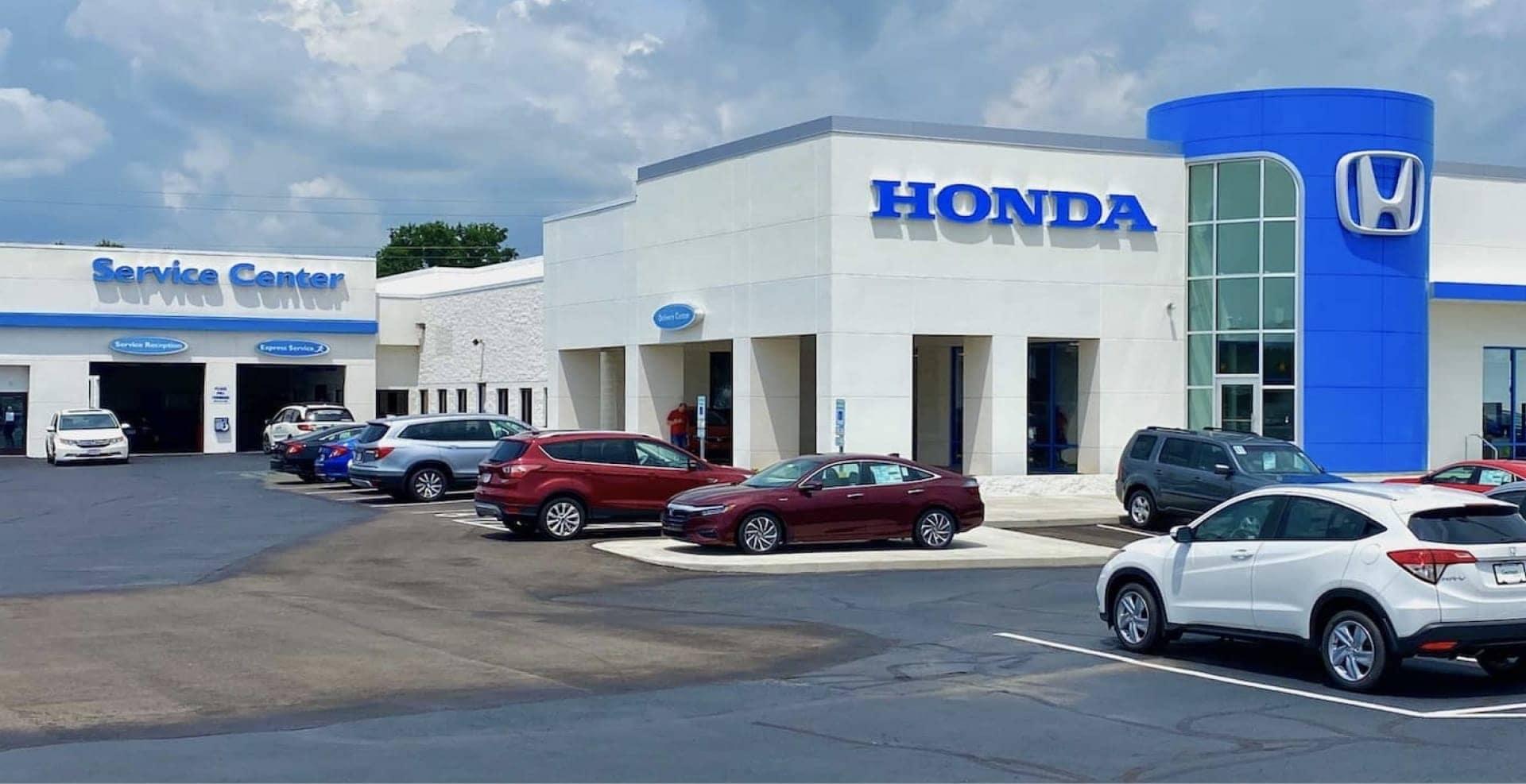 Germain Honda of Beavercreek dealership exterior