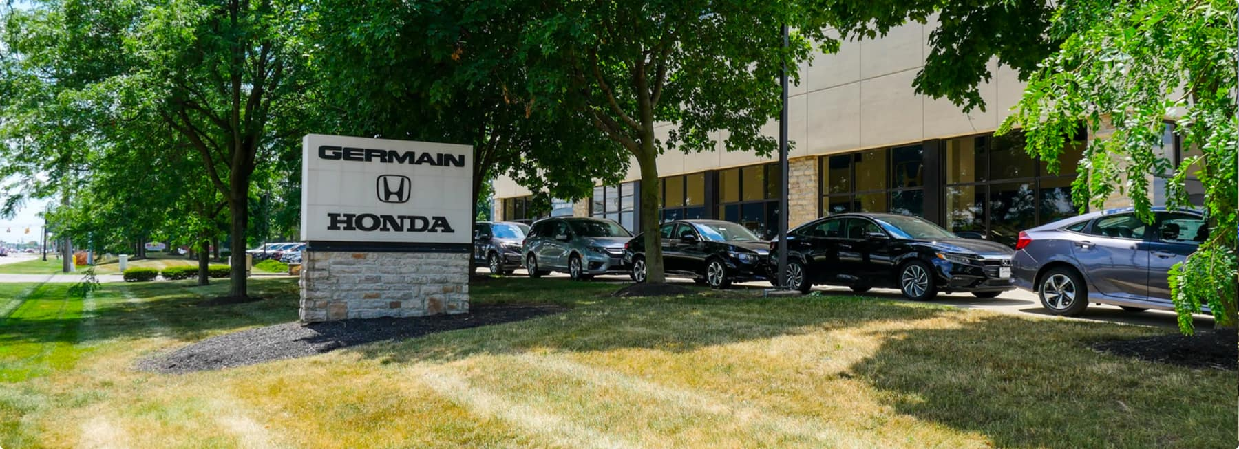 Germain Honda of Dublin dealership exterior