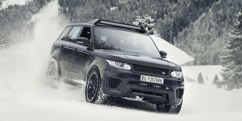 Range Rover SVO James Bond Stunt Vehicle