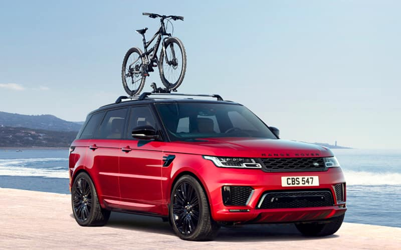 Range Rover Bike Rack Accessory