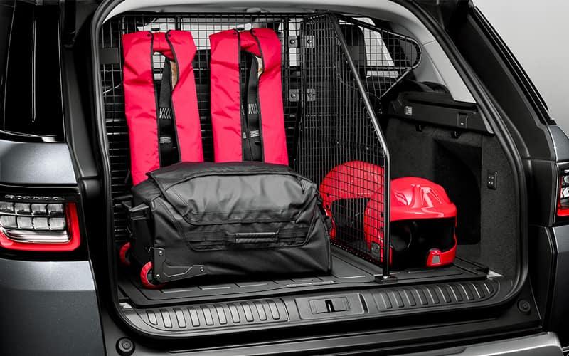 Range Rover Trunk Divider