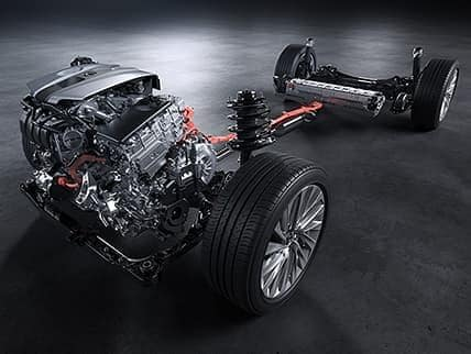 2019 lexus es chassis and drivetrain