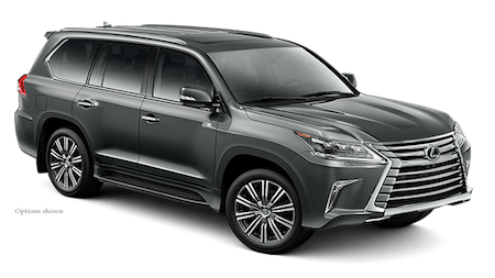 2018 Lexus LX Two Row in Gray