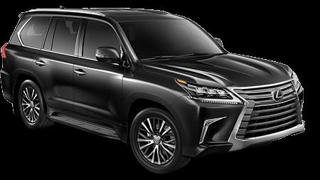 2019 Lexus LX Three-Row in Black