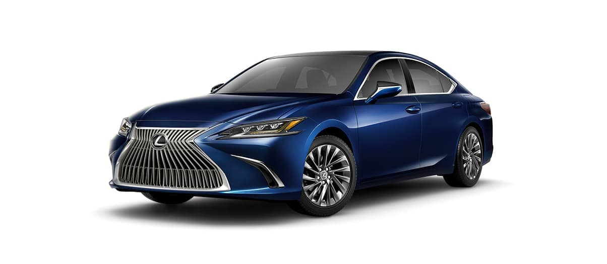 2019 Lexus ES Luxury in Blue
